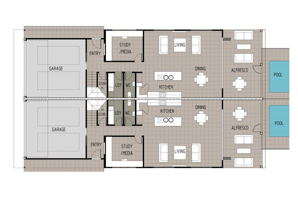 Home Design Capella D4003 - Ground Floor