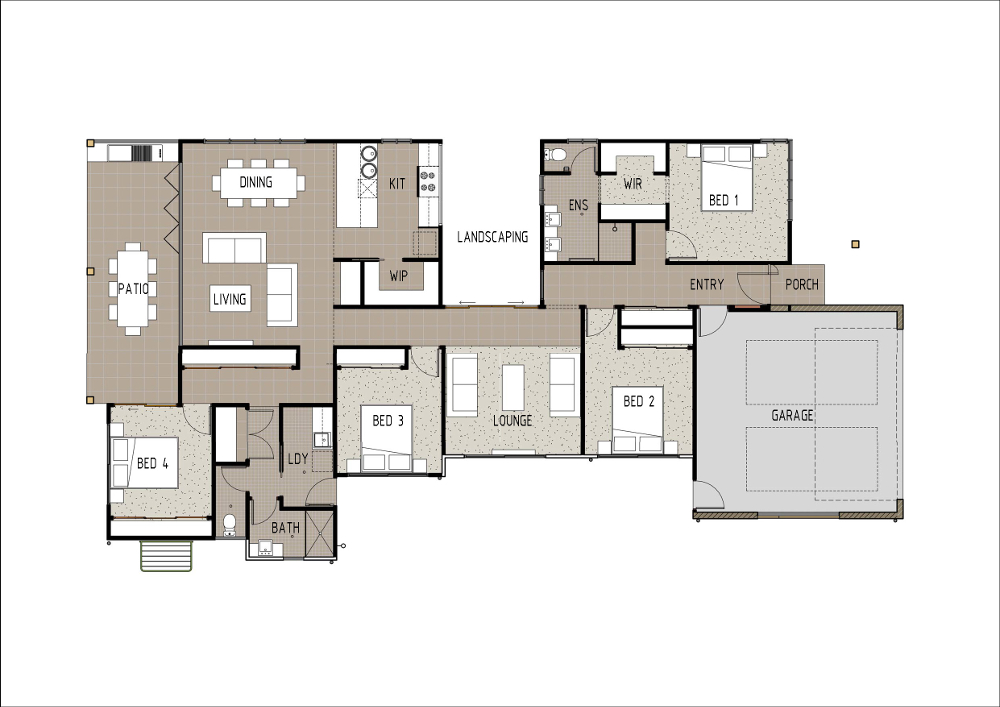 Home Design - Lyrae - M4009 - Ground Floor