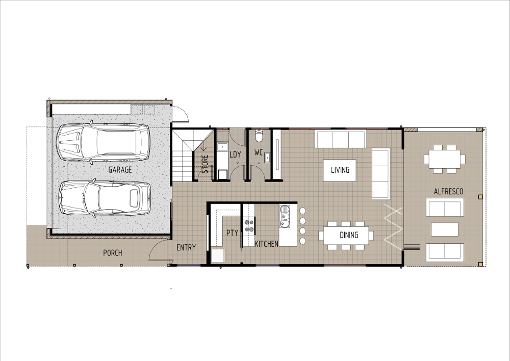 Home Design - Klystron - T4025 - Ground Floor