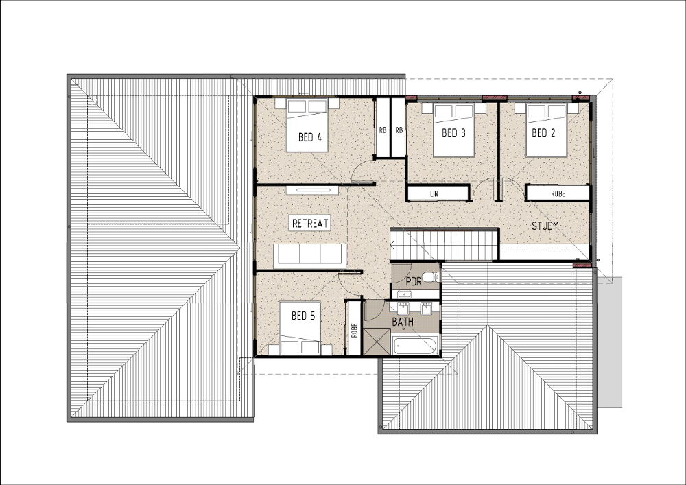 Home Design - Eridani - T5004b - First Floor
