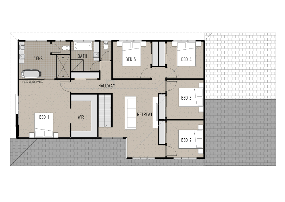Home Design - Sirius - T5009b - First Floor